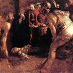 Caravaggio, Burial of Saint Lucy